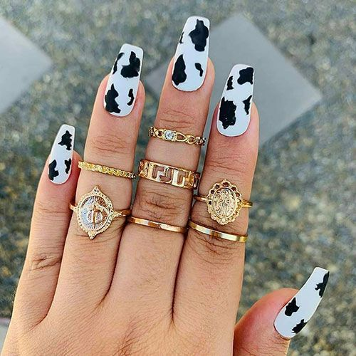 65 Best Coffin Nails Short Long Coffin Shaped Nail Designs For 2020 In 2020 Coffin Shape Nails Popular Nail Designs Acrylic Nails Coffin Pink