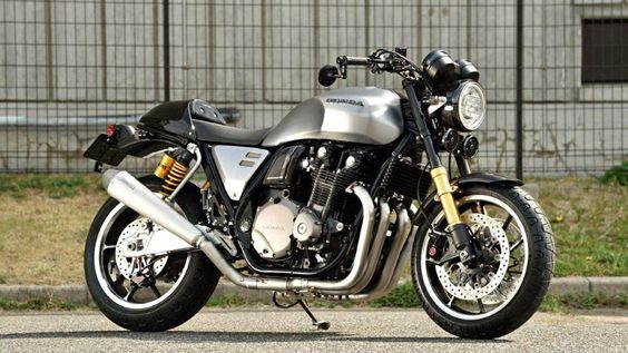 A Honda apresentou um novo modelo conceito baseado na CB1100, no recenteSalão de Osaka.