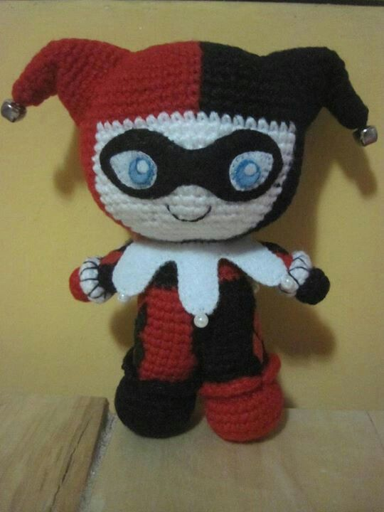 Harley Quinn amigurumi Amigurumi Pinterest Juguetes ...