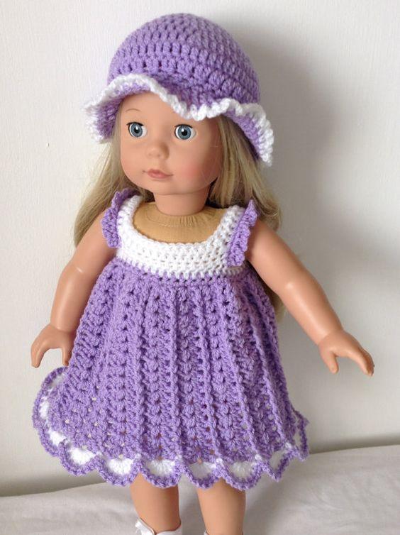 Pdf Crochet Pattern For 18 Inch Doll American Girl Doll