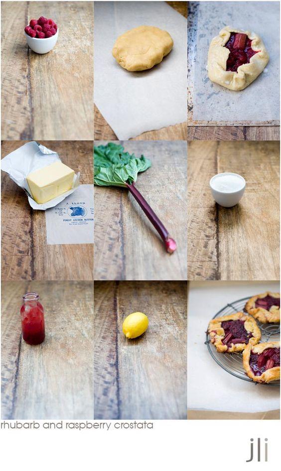 Rhubarb Raspberry Crostata | Food | Pinterest | Raspberries and Html
