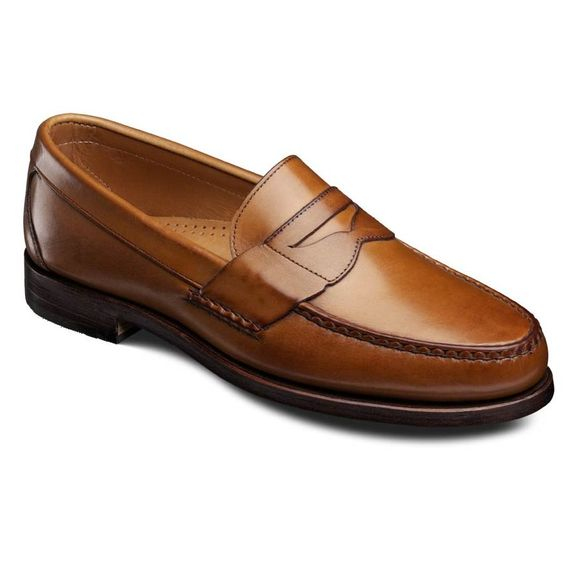 Cavanaugh Penny Loafers, 50025 Walnut Burnished Calf