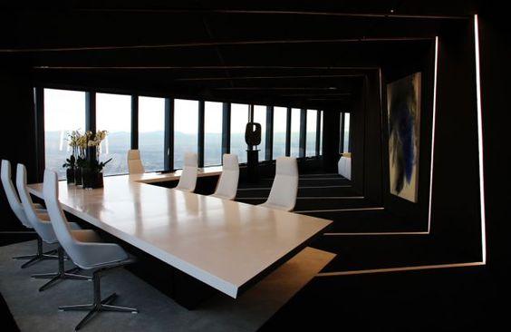 Torre de Cristal Office Interior by A-cero Architects » CONTEMPORIST