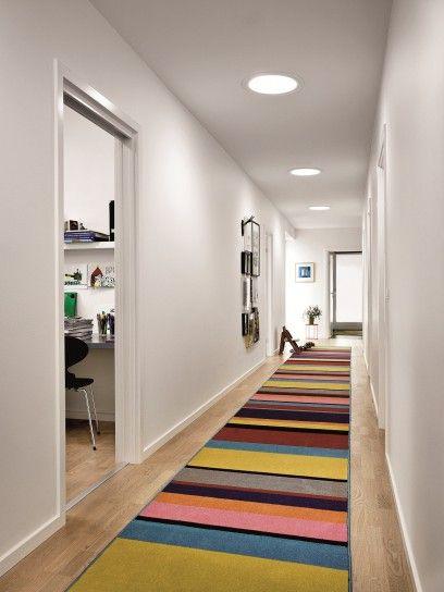 Idee per illuminare il corridoio   illuminazione corridoio con ...