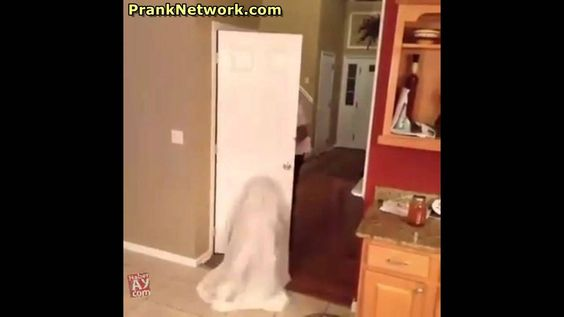 Baby Ghost Prank Fail