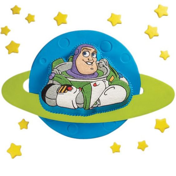 Buzz Lightyear is simply the coolest space ranger, and this cake is sure to please everyone at the party.