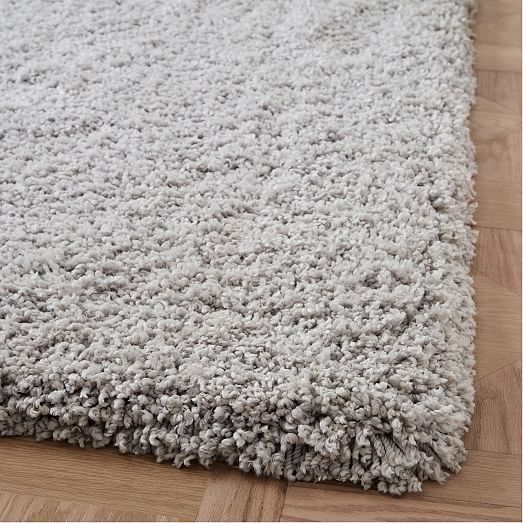 Cozy Plush Rug Frost Gray 5 X8 In 2020 Plush Rug Rugs On Carpet Solid Color Rug