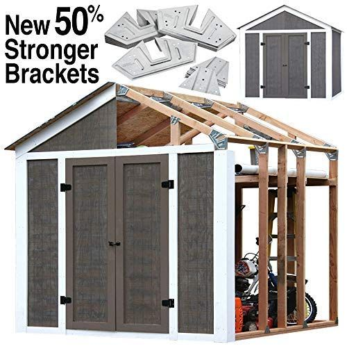 12x12 Barn Shed Plans With Overhang Free Pdf Construct101 Shed Frame Storage Shed Kits Outdoor Storage Sheds