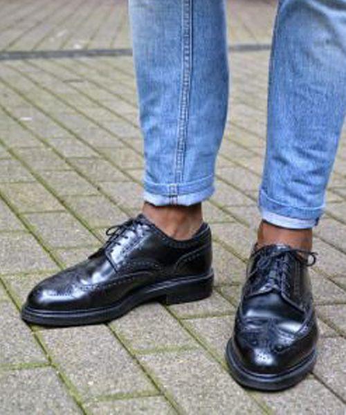 sapato com jeans