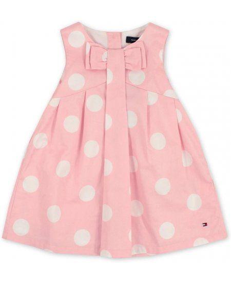 Tommy Hilfiger Baby Girls Rosebank Polka Dot Dress: