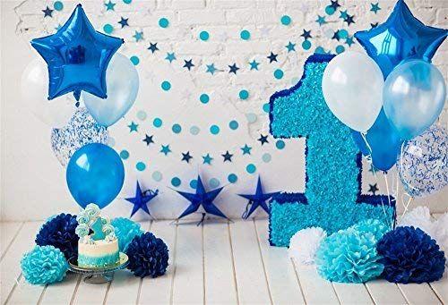 Amazon Com Lfeey 5x3ft Happy 1st Birthday Photo Booth Paper