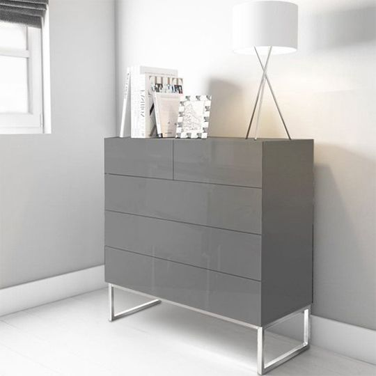 Modern Chest Of Drawers Grey
