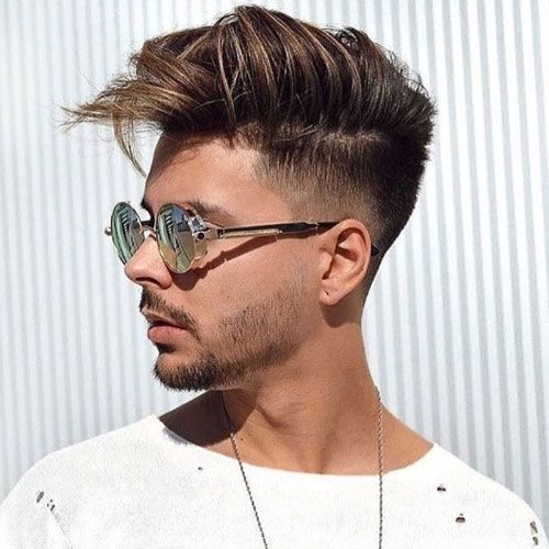 Low Fade Messy Medium Length Hair Best Haircuts For Men Men S Hairstyles Cool Haircuts For Men Most P Haircuts For Men Cool Hairstyles Quiff Hairstyles