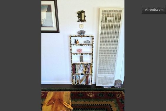ALPENHAVEN BOOKCASE HOUSING A SMALL PART OF ESTES PARK / ROCKY MOUNTAIN NATIONAL PARK LIBRARY