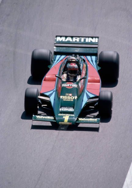 Mario Andretti Of The United States In Action During The