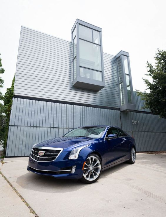 A dramatic presence. The all new 2015 Cadillac #ATS_Coupe | See more about Spotlight, Cadillac Cts and Happy Birthday.