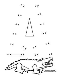 Alligator Printables Free