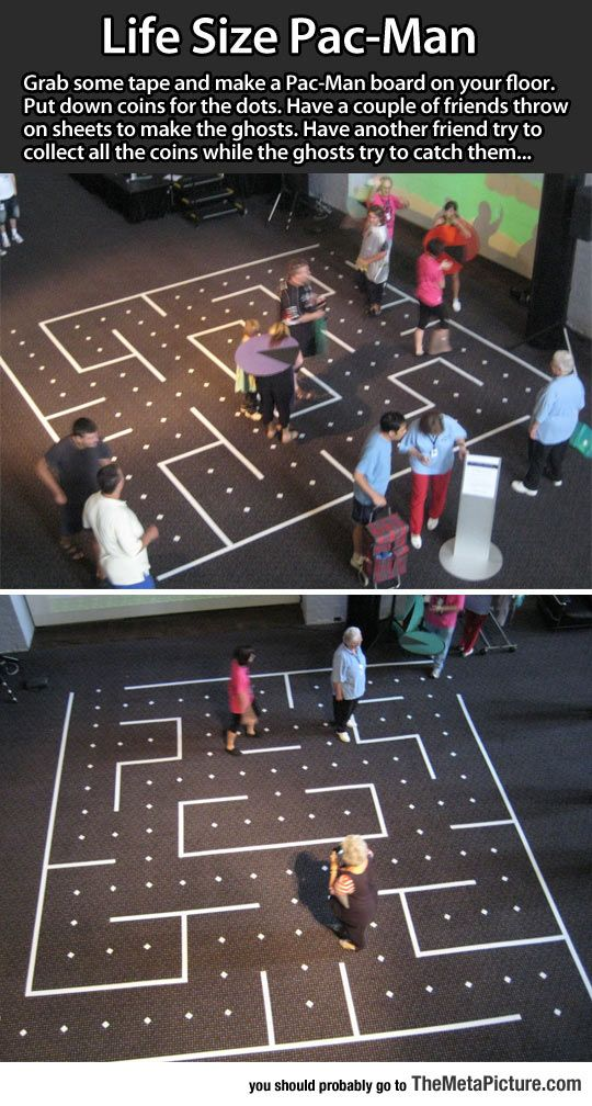 Life Size Pac-Man Idea