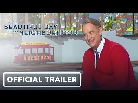 A Beautiful Day In The Neighborhood Mister Rogers Movie Official Mr Rogers Movie Mr Rogers Tom Hanks