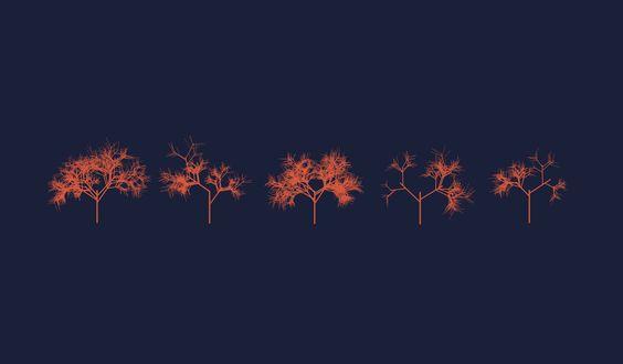 Recursive tree. by Pixtil