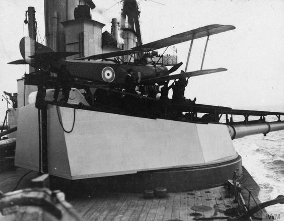 Royal Naval Air Service Sopwith 1½ Strutter two-seat general purpose biplane in service during WW I.