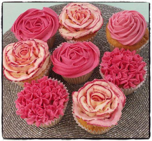 Sainsburys Cupcake Decorations : 4 simple ways to ice your cupcakes Sainsbury s Magazine ...