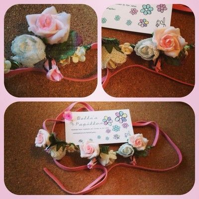 Flower Headbands£3.50