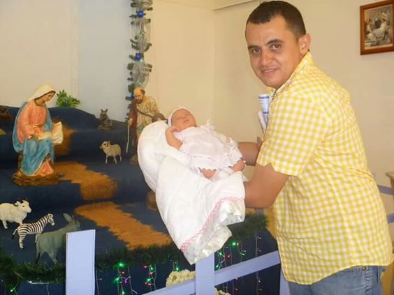 Con mi orgulloso padre