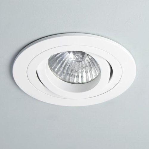 Astro 5665 Minima Adjustable Ceiling Spot Light In White 240v Recessed Ceiling Spotlights Downlights Recessed Ceiling Lights