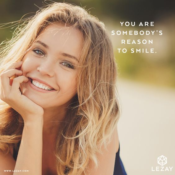 You are somebody's reason to smile... Happy Sunday!