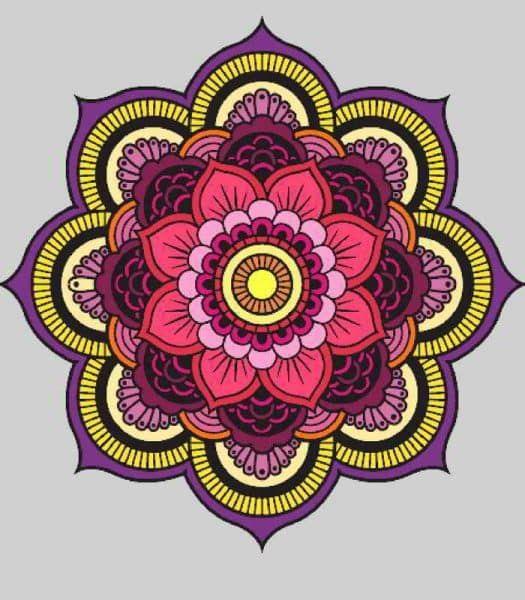 Mandalas Con Flor De Loto Significado Y Disenos Para Descargar Mandalas Flor De Loto Dibujo Mandalas Flor De Loto Mandalas