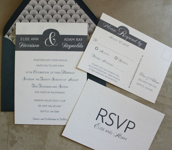 I love navy blue and it is the hot new color for 2017. Let Creations by Chris design your custom invitations for a one-of-a-kind statement.
