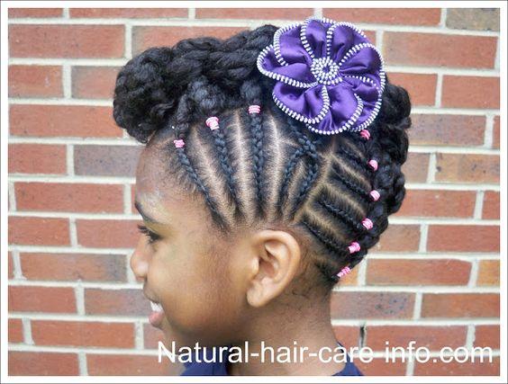 Astounding Black Girls Girl Hair And Natural On Pinterest Hairstyles For Men Maxibearus