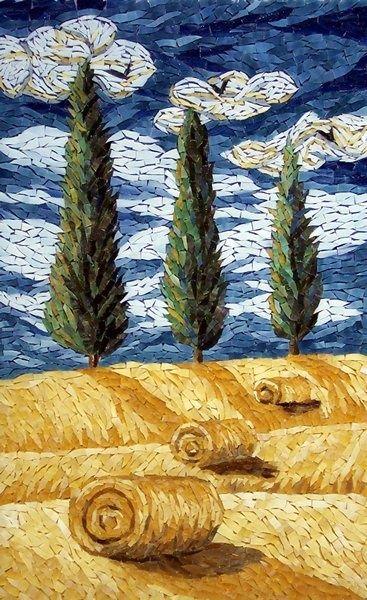 Such a beautiful mosaic mosaic design pinteres for Mosaic landscape design