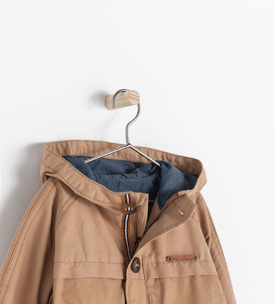 ZARA - KIDS - COMBINATION PARKA