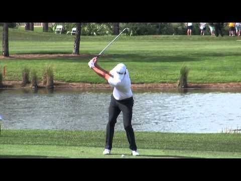 62 Adam Scott Golf Swing Video 2014 Face On View