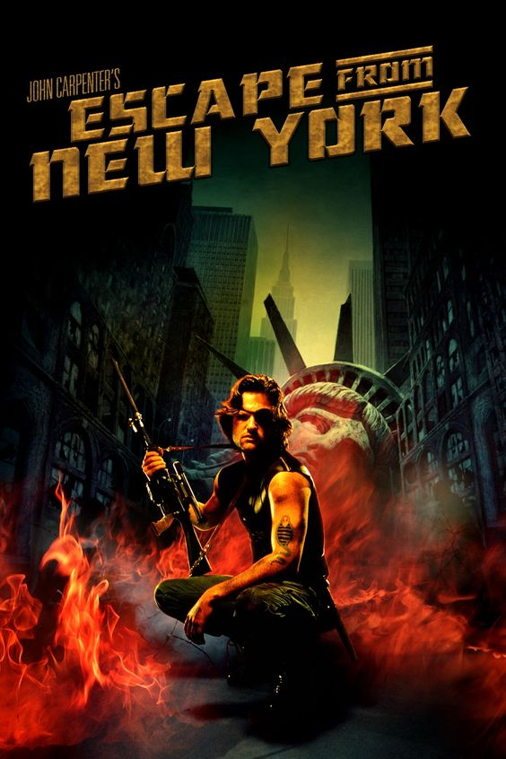 fuga de nova york - clássico de jonh carpenter