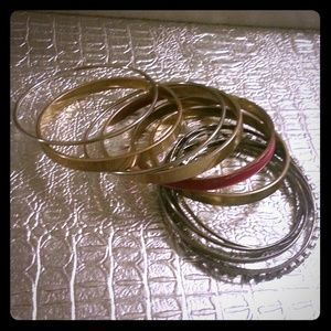 I just discovered this while shopping on Poshmark: Lot of Bracelets. Check it out!  Size: OS