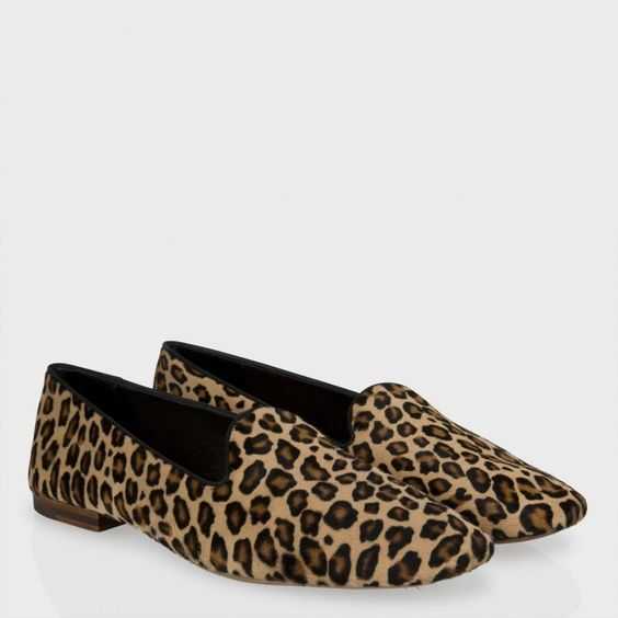 Paul Smith Shoes - Leopard Print Calf Hair Aldwin Loafers