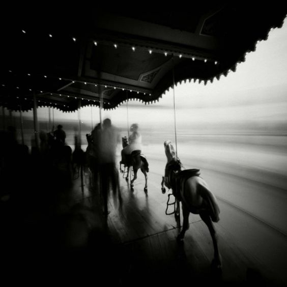 Stefan Killen | Pinhole New York Jane's Carousel, Dumbo, Brooklyn Pinhole photograph