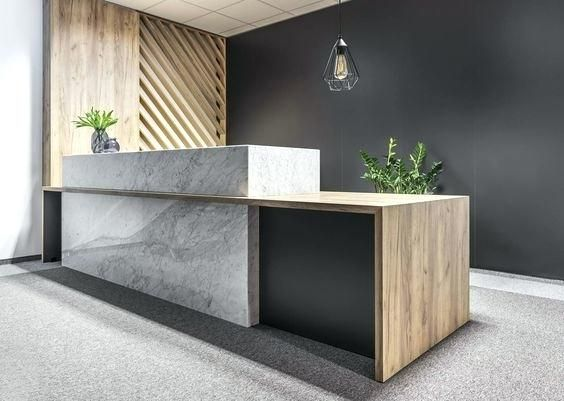 Lofty Reception Desk Idea Best On Office Within Design Renovation