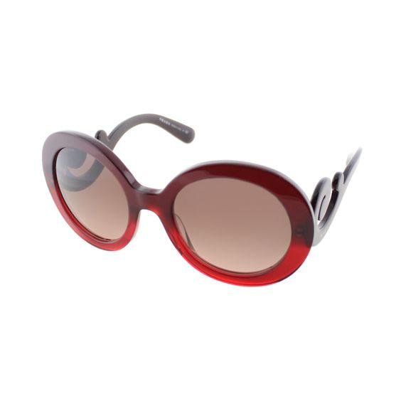 Prada Women's 'PR 27NS MAX0A5' Gradient Minimal-Baroque Sunglasses