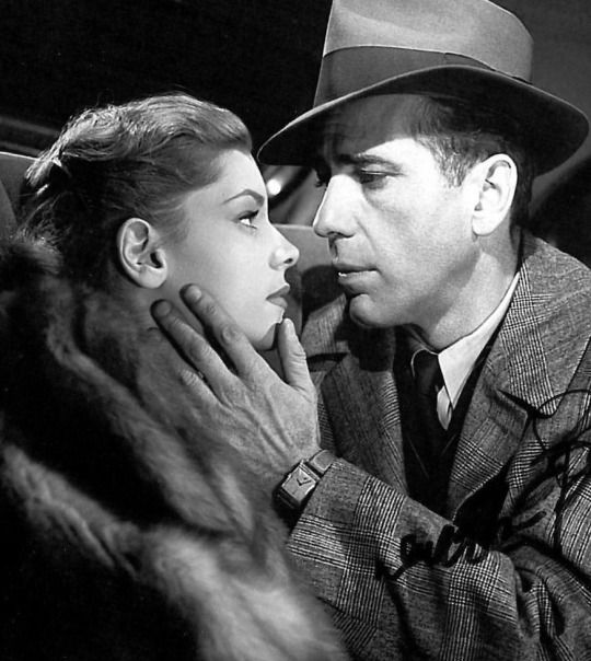 Lauren Bacall and Humphrey Bogart, The Big Sleep, 1946