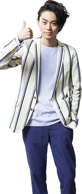 爽やかなジャケットが似合う菅田将暉の最新画像