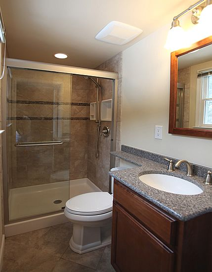 Rancher remodel before and after bathroom shower - Before and after small bathroom remodels ...