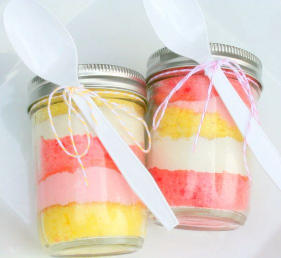 cake in a jar for on-the-go celebrating
