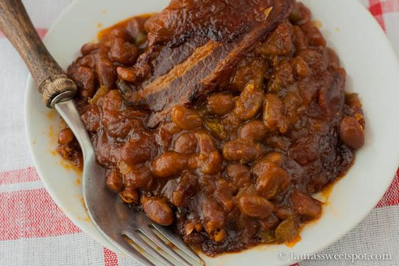 baked beans. Similar to how I have always made baked beans with just a ...