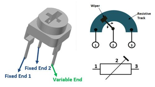 Preset Potentiometer Pinout With Images Electronics Projects