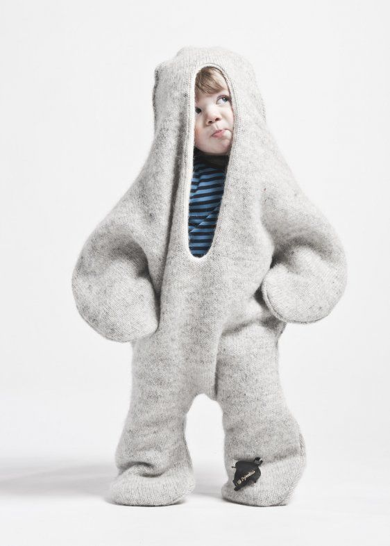 The Baby Seal designed 2006 by Vík Prjónsdóttir, 100% Icelandic wool, one size.