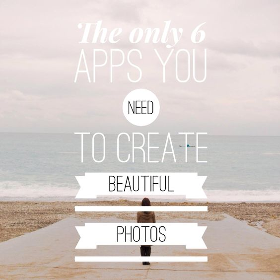 These are the only 6 apps you truly do need to create epic photos with your phone !   Get it here for FREE :  http://www.lynneknowlton.com/subscribe/  #DIY #ideas #home #photoapps #blog #howtoblog